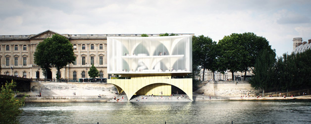 Results of the [PARIS] River Champagne Bar Design Competition