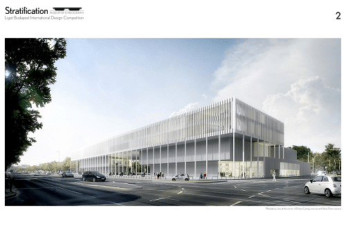 liget budapest project results of the international architectural