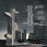Results of the Competition [DUBAI] Architecture School Tower
