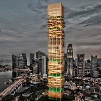 Results of the Competition Bamboo Skyscraper – SINGAPORE