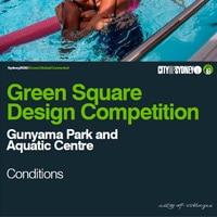 Green Square Design Competition: Gunyama Park and Aquatic Centre