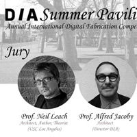 DIA Summer Pavilion | Digital Fabrication student's competition