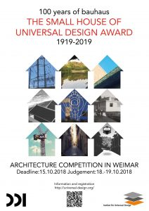 KleinesHaus_Poster.jpg The Small House of Universal Design Award