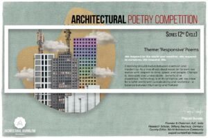 Landscape-Poster_Poetry2.jpg Architectural Poetry Competition Series, 2nd Cycle