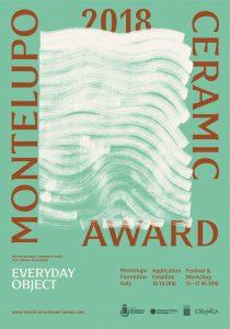 MCA2018_Poster.jpg International Competition MCA2018 - Montelupo Ceramic Award