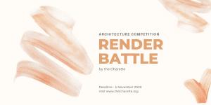 Render-Battle-Banner-min.png Architectural Design & Drawing Competition: Render Battle
