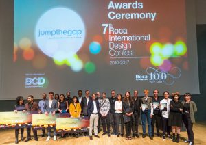 lliurament.jpg 8th jumpthegap® Roca International Design Contest 2018-2019